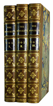 [COOPER, James Fenimore, 1789-1851] : THE MONIKINS. A TALE.