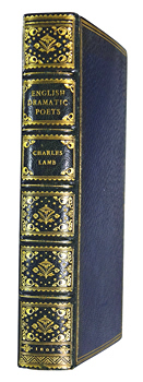 LAMB, Charles, 1775-1834 : SPECIMENS OF ENGLISH DRAMATIC POETS, WHO LIVED ABOUT THE TIME OF SHAKESPEARE : WITH NOTES.