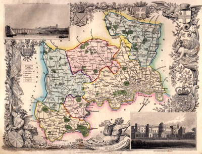 [MOULE, Thomas, 1784-1851] : MIDDLESEX.