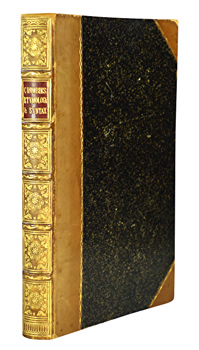 CROMBIE, Alexander, 1762-1840 : THE ETYMOLOGY AND SYNTAX OF THE ENGLISH LANGUAGE EXPLAINED AND ILLUSTRATED.