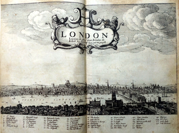 HOWELL, James, 1594?-1666 : LONDINOPOLIS; AN HISTORICALL DISCOURSE OR PERLUSTRATION OF THE CITY OF LONDON, THE IMPERIAL CHAMBER, AND CHIEF EMPORIUM OF GREAT BRITAIN ...