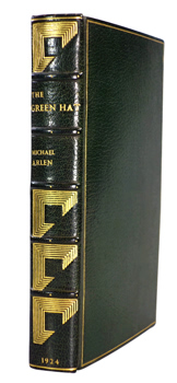 ARLEN, Michael, 1895-1956 : THE GREEN HAT : A ROMANCE FOR A FEW PEOPLE.