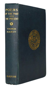 HARDY, Thomas, 1840-1928 : POEMS OF THE PAST AND THE PRESENT.