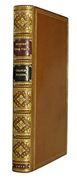 DICKENS, Charles (Charles John Huffam), 1812-1870 : PICTURES FROM ITALY.