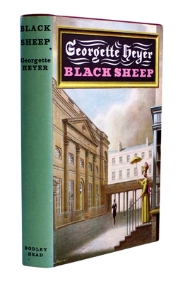 HEYER, Georgette, 1902-1974 : BLACK SHEEP.