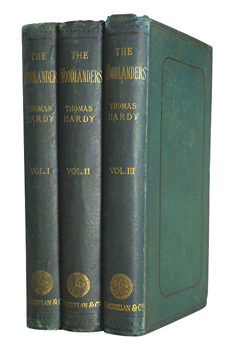 HARDY, Thomas, 1840-1928 : THE WOODLANDERS.