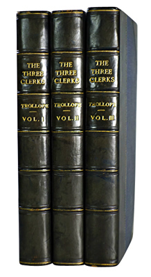 TROLLOPE, Anthony, 1815-1882 : THE THREE CLERKS.