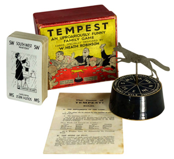 ROBINSON, W. Heath (William Heath), 1872-1944 : TEMPEST : AN UPROARIOUSLY FUNNY FAMILY GAME.