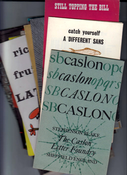 STEPHENSON, BLAKE & CO. : [COLLECTION OF PROMOTIONAL LEAFLETS].