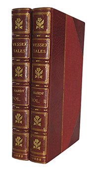 HARDY, Thomas, 1840-1928 : WESSEX TALES : STRANGE, LIVELY, AND COMMONPLACE.